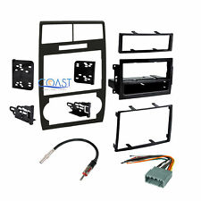 Stereo Double Din Dash Kit Harness Antenna for 2005-2007 Dodge Magnum Charger
