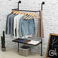 "Half Round Clothing Rack Hot Pink Garment 37 ½/""/"" x 55/"" Retail Display Clothes"
