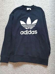 Black Adidas Sweatshirt Size 12