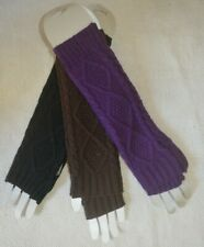 Chunky Gloves Armwarmers Long Cardigan Elbow Length