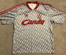 Liverpool fc retro away shirt Season1989-91 please see photos for condition