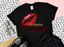 Nfl Arizona Cardinals V-Neck T-Shirt Top Tee Custom Gildan Handmade New