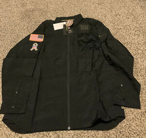 New York Giants Nike STS Salute To Service Jacket Shirt Men's Size: 2XL NWT