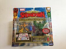 MARVEL HEROES SUPER SHOWDOWN WOLVERINE V.S HULK