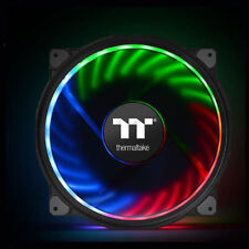Thermaltake CL-F070-PL20SW-A Riing Plus 20 200mm RGB Case Fan w/o Controller