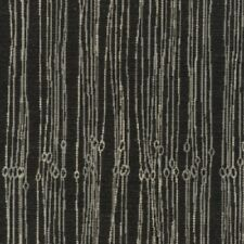 Knoll Fibra Black And Gray Upholstery Fabric Free Shipping! Bty SF1202