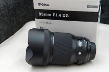 Objektiv Sigma Art Serie 85mm F1,4  für Nikon Objektivbajonett, Top Zustand!