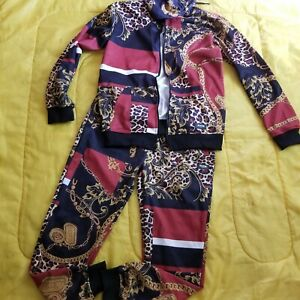 Baroque Tracksuit Set Jacket & Pants Medium