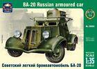 1/35 BA-20 Russian armourd car Ark Model kit 35004
