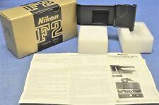 c. 1977 NOS NEW IN BOX Nikon MF3 Film Stop Back f/F2 F2S F2SB F2AS & MD2/MB1 VTG