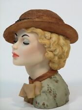 """Cameo Girls Head Vase Eve 1935 """"Uptown Style"""" MIB  FREE SHIPPING"""