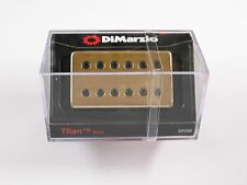 DiMarzio Regular Spaced Titan Neck Humbucker W/Gold Cover & Black Poles DP 258