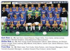 CHESTERFIELD FOOTBALL TEAM PHOTO>1998-99 SEASON