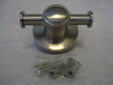 Franklin Brass Tempra Double Robe Hook Satin Nickel No. 4002SN