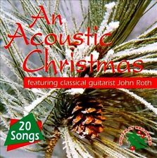 An Acoustic Guitar Christmas 20 Songs New CD Excellent!