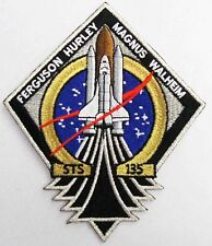 NASA Official STS-135 Mission PatchThe Last Space Shuttle Mission Atlantis USA