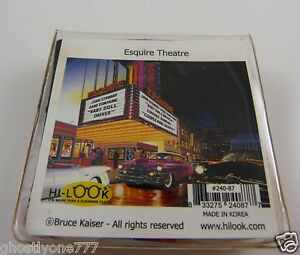 Bruce Kaiser Esquire Theater Micro fiber cleaning cloth smartphone glasses 50's