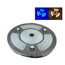 """Pactrade Marine Boat RV 5""""  White Blue LED Ceiling Courtesy Light  Touch Switch"""