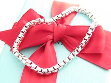 Tiffany & Co Sterling Silver Venetian 7.5 Inch Bracelet