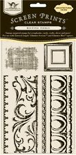 Tattered Angels Architectural Trims Clear Stamps