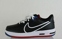 New Nike Air Force 1 React in React Black/White Gym Red Gym Blue Colour Size 10