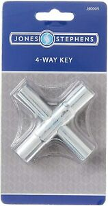 4-Way Sillcock Key For Outdoor Water Faucet Valves Residential Commercial J40005