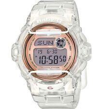 Casio Baby-G Shock BG169G-7B Brand New Womens Clear Rose Whale Digital Watch