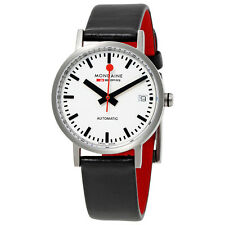 Mondaine Classic Automatic White Dial Ladies Watch A128.30008.16SBB
