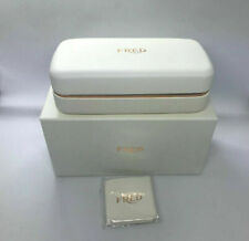 Brand New FRED Eyeglasses/Sunglasses Case With Pouch And Cleaning Cloth