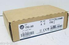 AB PLC Input Module 1762-IA8 ( 1762IA8 ) New In Box, Factory Sealed !