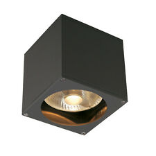 Intalite exterior IP44 BIG THEO WALL OUT wall light square anthracite ES111 75W