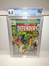 CGC 6.5 MARVEL FEATURE #1 12/71 GRADED 1ST APP OF DEFENDERS