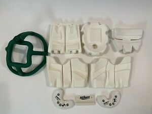 COMPLETE SET OF SCHUTT AIR ADVANTAGE INNER FOOTBALL HELMET PADDING SIZE ADULT L