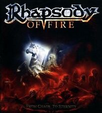 From Chaos to Eternity by Rhapsody of Fire (CD, 2011, Nuclear Blast)