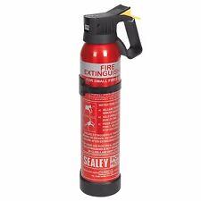SEALEY SDPE009D 0.9kg Dry Powder Fire Extinguisher