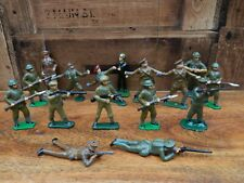 Lead Metal Figure WW1/WW2 British Soldier Bundle - 16 Figures