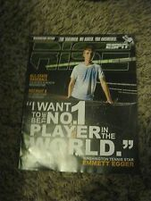 """RISE MAGAZINE - APRIL 2011  """"EMMETT EGGER"""" - WANT TO BE #1 IN THE WORLD"""