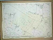 Old Antique Ordnance Map 1928 Lancashire LXXXIII.7 Scarisbrick & Shirdley Hill