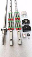 HGR25-1800mm Hiwin Linear rail & HGH25CA &RM2505-1800mm Ballscrew&BF20/BK20 Kit
