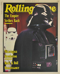 "Aust. ""Rolling Stone"" magazine ""Star Wars Empire Strikes Back"" 1980 promo poster"