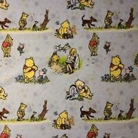 Fabric Winnie the Pooh cotton stretch knit Piglet & Tigger Eeyore 1 ¼ yrd