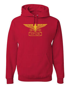 SPQR Latin Roman  Sweatshirt Hoodie SIZES S-3XL