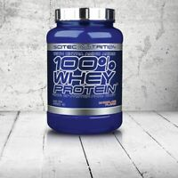 SCITEC NUTRITION 100% WHEY PROTEIN With Extra Amino Acids BCAA Glutamin Taurine