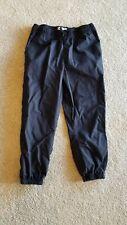 Girls Children's Place Black Jogger Pants Size 6X/7