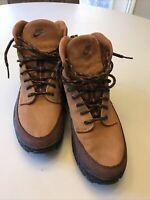 Nike Manoa Leather Brown Tan ACG Mens Hiking Walking Work Boot  Size 9