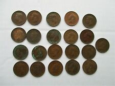 More details for job lot 21 george vi coins / farthings - various years and condition