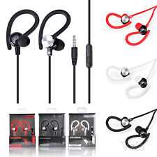 In & Over Ear Super Bass Music W/ Mic Headphone Earphone For Running Gym Sports