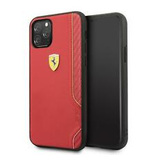 Ferrari Hard Case iPhone 11 Pro PU Leather Red 360 degree PROTECTION