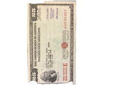 $25.00 U.S. War Savings Bond