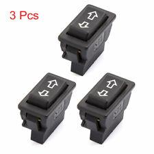 3pcs Universal 5 Pin Onoff Spst Momentary Power Window Rocker Switch Controller